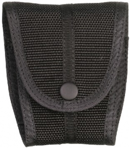 Ballistic nylon single cuff case